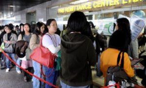 HONG KONG-PHILIPPINES-ECONOMY-REMITTANCES