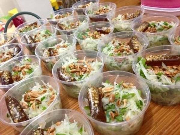 Healthful Food Business Idea Thai Papaya Salad