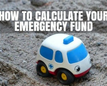 Calculate your emergency fund