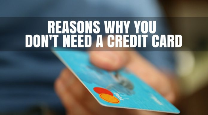 No to Credit Card