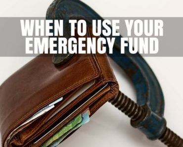 Use emergency fund
