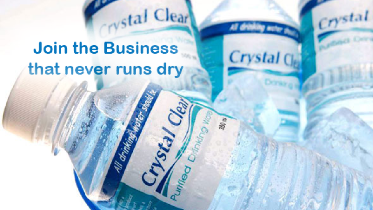 Franchise Ideas: Crystal Clear Water Refilling Station