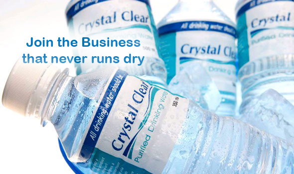 franchise ideas crystal clear water refilling station business