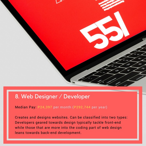 web designer developer