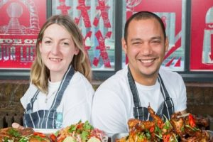 BBQ Dreamz owners Sinead Campbell and Lee Johnson