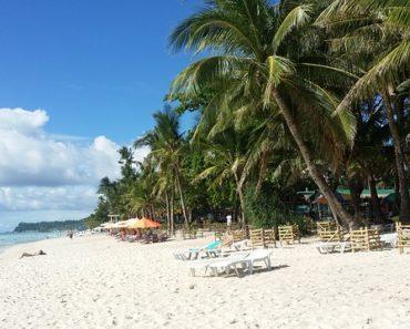 Boracay island beach front