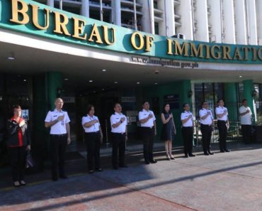 officials of the Bureau of Immigration