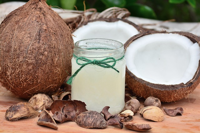 coconut husk and juice