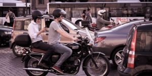 motorcycle as public transport