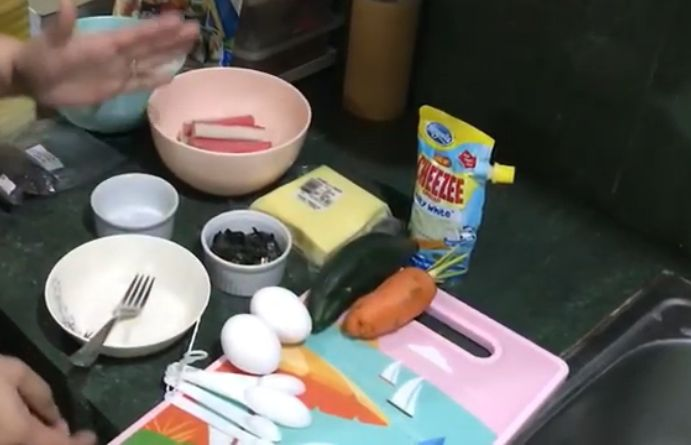 Baked Cheesy Kimbap Recipe