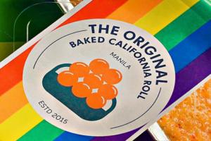 The Original Baked California Roll