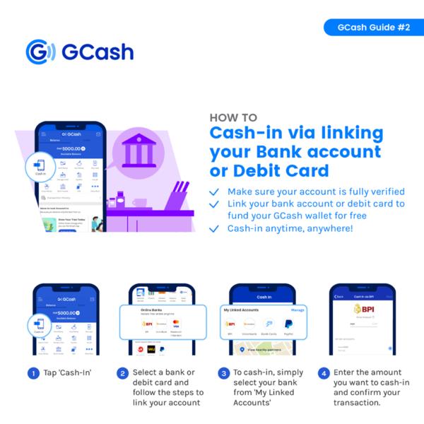 GCash convenience fee