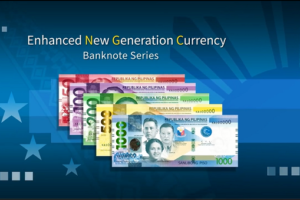new BSP banknotes
