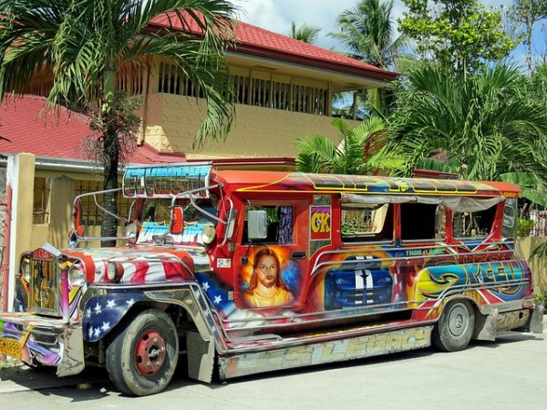 traditional jeepney