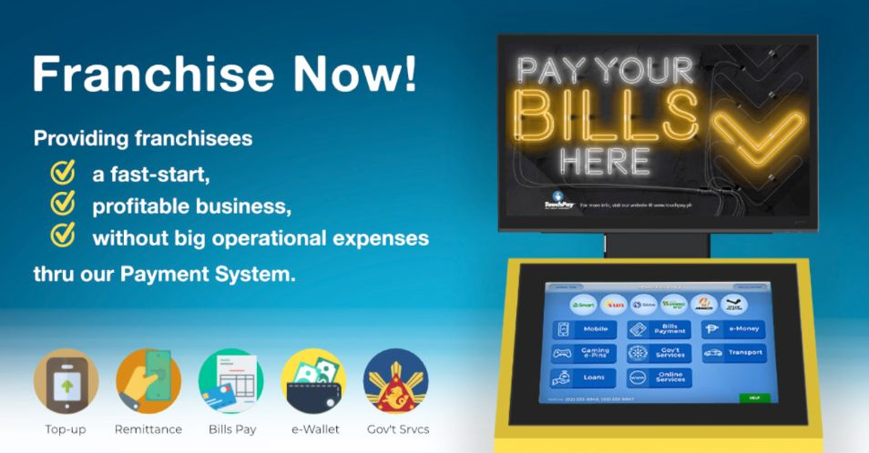 Franchising TouchPay, the Pioneer Express Payment System ...