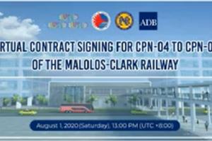clark-malolos railway project